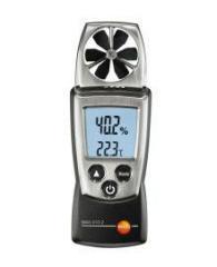 Анемометр с крыльчаткой и сенсором влажности