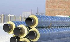 Трубопроводы пара и горячей воды