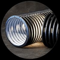 Drainage polyethylene pipes PERFOKOR