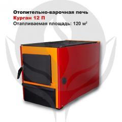 Heating and cooking Kurgan furnace 12 P