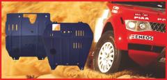 Защита моторного отсека и КПП Hyundai Veraсruz