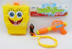 The water gun with a backpack SpongeBob Packing: