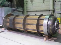 Heat exchangers, heat exchangers kozhukhotrubny