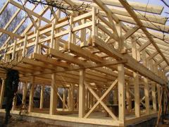 Дом каркасный из дерева