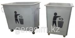 Garbage containers from the producer