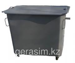Eurocontainers 1,1 cubic (1100 l) with the