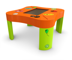 Touch children's table