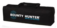 Bag for carrying of Bounty Hunter metal detectors