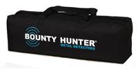 Bag for carrying of Bounty Hunter metal detectors