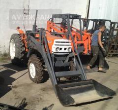 Mitsubishi D3250 2001 tractor.