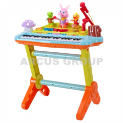 Synthesizer children's with a stool