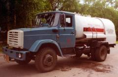 Tanker gas-filling - 8-MU