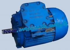 Electric motors for pump units