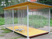 Dog enclosure