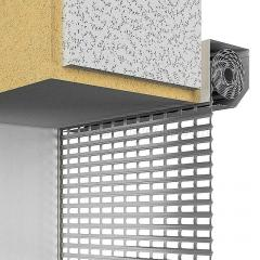 Lattices rolletny AEG56. Built-in installation by
