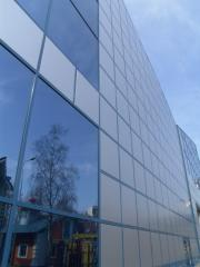 The ventilated ALT150 facades