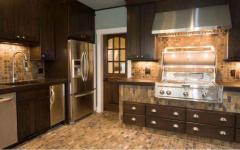 Kitchens are natural, wooden