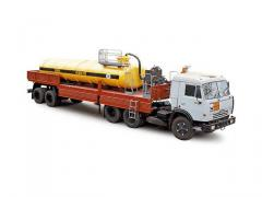 ATsK-15 road train acid tank truck (KAMAZ-54115