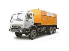 Station compressor SD-9/101M (KAMAZ-53228 chassis