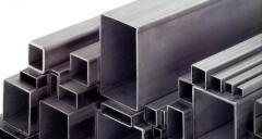 Pipes square UMK diameter 15*15*1,2 length 6,05