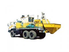 Агрегат-смеситель АС-40 (шасси КАМАЗ-43118 6х6)