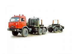 Автопоезд-трубовоз 442620 (шасси КАМАЗ-43118)