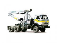 The truck tractor of model 64061 with the