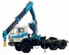 The truck tractor of model 6406 with IM-150