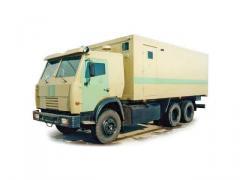 Спецавтомобиль АСПЦ-6710 (шасси КАМАЗ-53215 6х4)