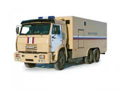 Спецавтомобиль АСПЦ-671040 (шасси КАМАЗ-6520 6х4)