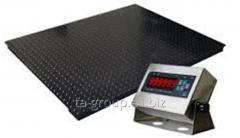 Scales platform EVP from 500 kg to 3 tons, type