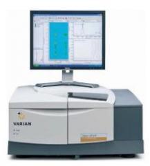 IK Fourier Varian 670/680-IR spectrometers
