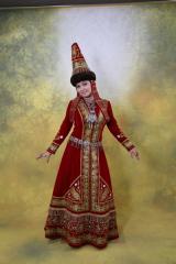 казахские платья, казахская национальная одежда, казахский орнамент.