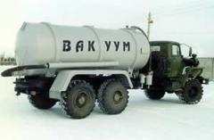 Машина вакуумная - 13 для сбора нефти