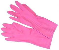 Бытовые резиновые перчатки