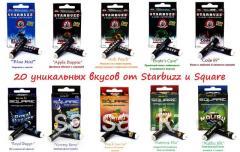 Оригинальные картриджи Starbuzz и Square