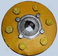 Coupling of the pump STsN 75/70