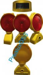 Lamp for designation of repair work