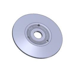 Диск вариатора масса 13,8 кг; материал: СЧ20