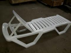 Chaise lounge plastic
