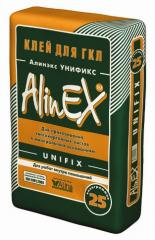 Glue for gypsum cardboard of Alineks Unifix