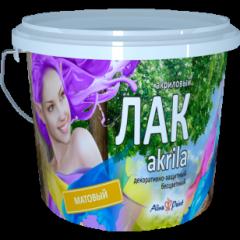 Лак Alina Paint Akrila матовый 1кг