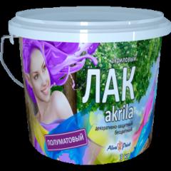 Лак Alina Paint Akrila полуматовый 3кг