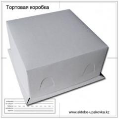 Упаковка из бумаги и картона 300х300х130 мм