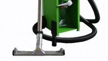 Vacuum purification of sand