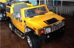 Children's electric car Hummer H2