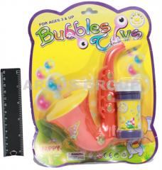 Мыльные пузыри саксофон, блистер картон