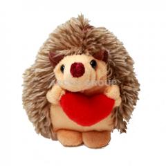 Мягкая игрушка Ёж с сердцем