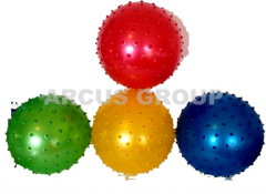 Ball rubber inflatable with pimples
