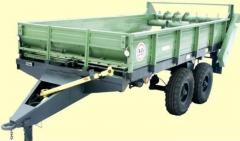 Spreaders of ROU-6 organic fertilizers